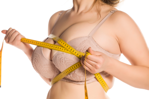 breast reduction preparation