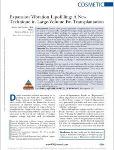 expansion vibration lipofilling