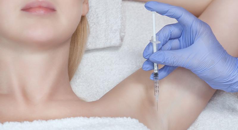 non surgical treatment hyperhidrosis