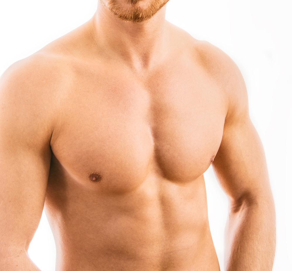 male pectoral implants london